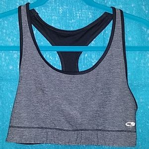 Large sports bra by Athletica  T strap backing